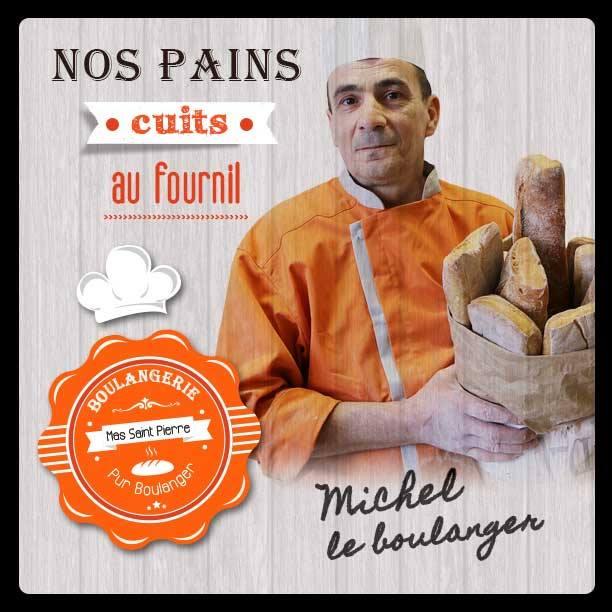 Nos boulangers, votre pain