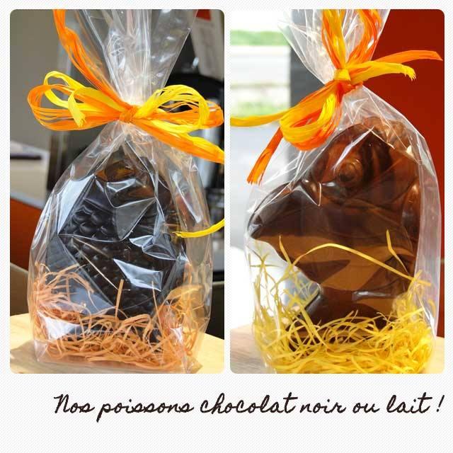 Ils sont là, les chocolats !