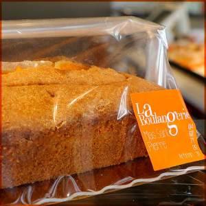 Cake parfumé à l'orange