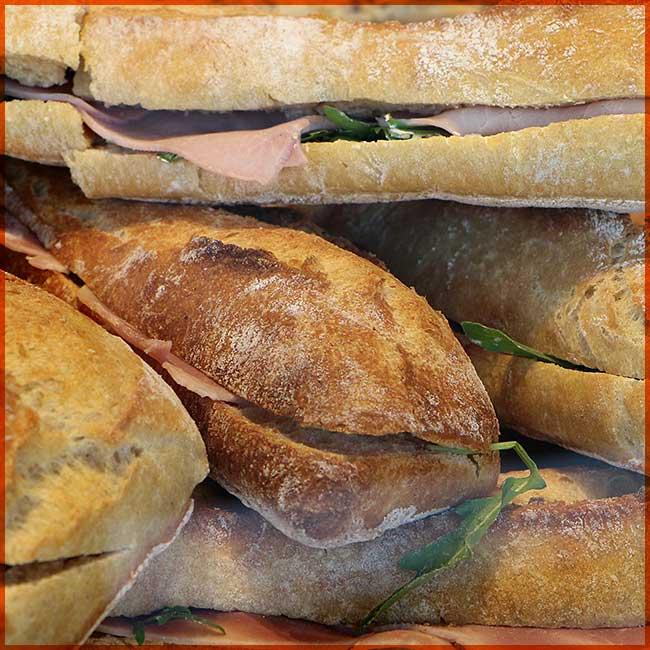 Notre pain et nos sandwichs