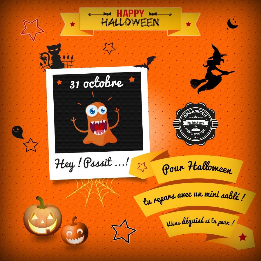 Happy Halloween à La Boulangerie