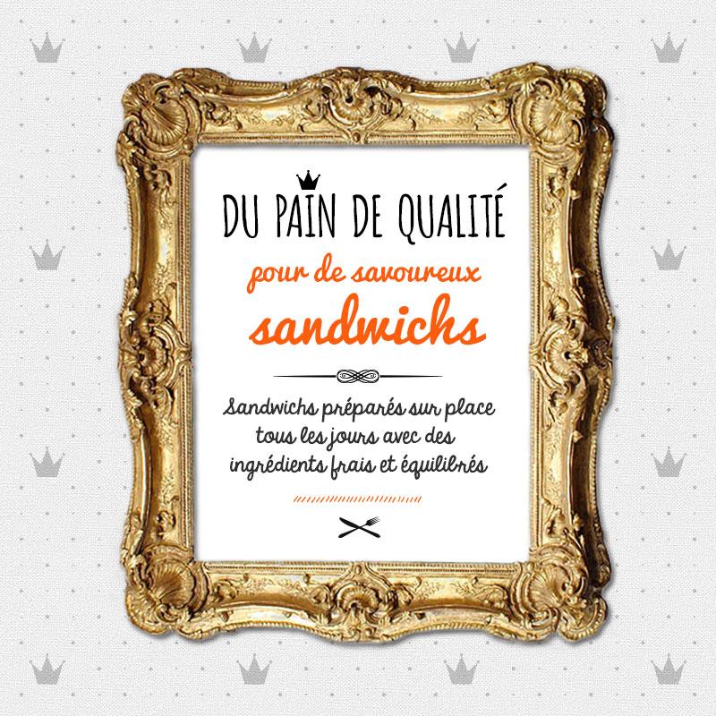 Pour faire un bon sandwich, il faut d'abord du bon pain !