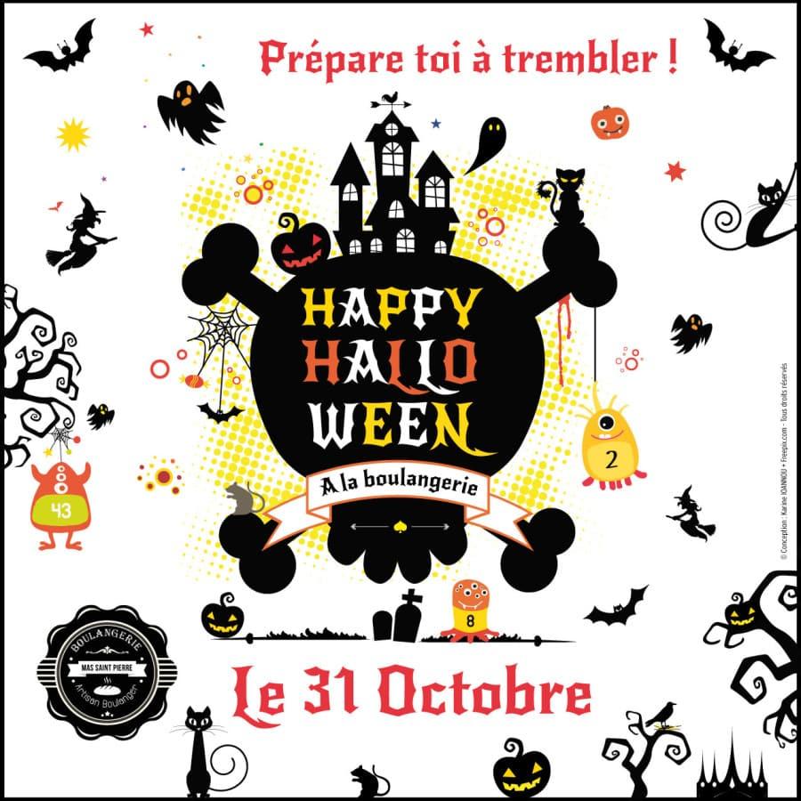 Bouh ! Prépare toi à trembler pour Halloween.