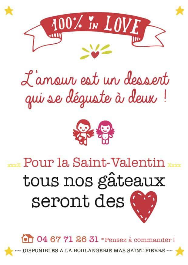 Pour la Saint-Valentin, déguste en amoureux un gâteau «cœur»