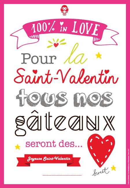Joyeuse Saint-Valentin 2017, mon cœur, mon amour !