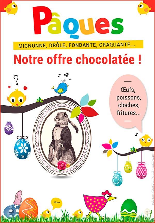 Pâques 2017, une fête chocolatée pour petits et grands !