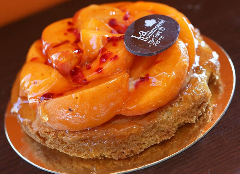Tarte Abricots Maison