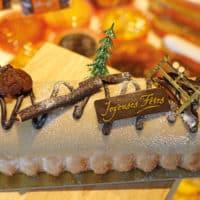 Bûche de Noël aux marrons