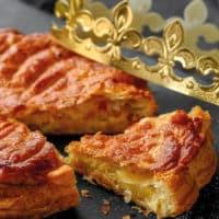Une galette frangipane croustillante et dorée